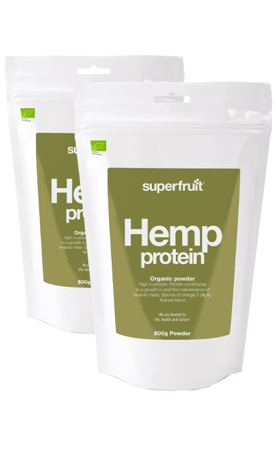 hampa protein pulver